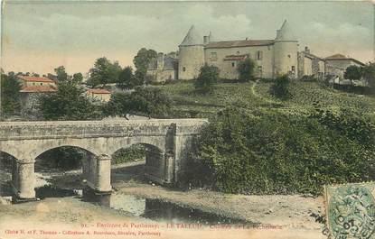 """CPA FRANCE 79 """"Env. de Parthenay, Le Tallud, Chateau de la Pechellerie"""""""