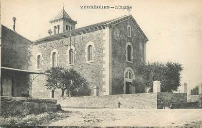 "/ CPA FRANCE 13 ""Venègues Cazan , l'église"""