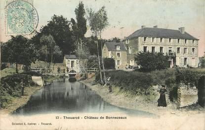 """CPA FRANCE 49 """"Thouarcé, Chateau de Bonnezeaux"""""""