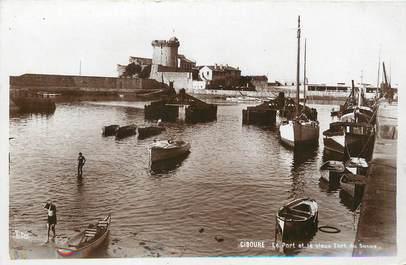 """/ CPSM FRANCE 64 """"Ciboure, le port et le vieux fort de Socoa"""""""
