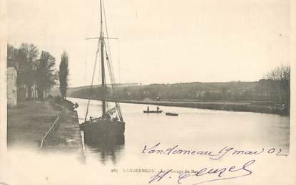"""/ CPA FRANCE 29 """"Landerneau, le passage du bac"""""""