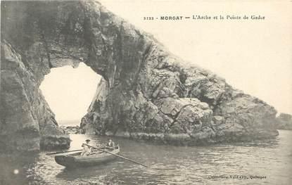 """/ CPA FRANCE 29 """"Morgat, l'Arche et la pointe de Gador"""""""