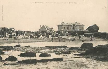 """/ CPA FRANCE 29 """"Roscoff, vue générale de la plage de Roch Kroum"""""""