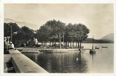 """/ CPSM FRANCE 73 """"Aix Les Bains, lac du Bourget"""""""