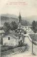 """09 Ariege / CPA FRANCE 09 """"Oust, l'église, vue de la chapelle"""""""