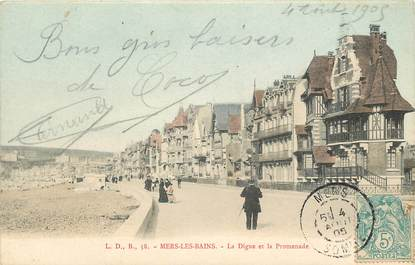 "CPA FRANCE 80 ""Mers sur Mer"""