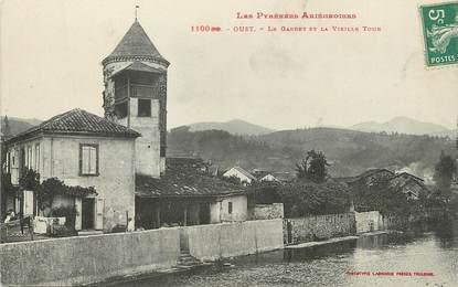 """/ CPA FRANCE 09 """"Oust, le Garbet et la vieille tour"""""""