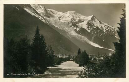 """CPSM FRANCE 74 """"Chamonix et le Mont Blanc"""""""