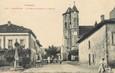 """/ CPA FRANCE 09 """"Damauzan, la croix gothique et l'église"""""""
