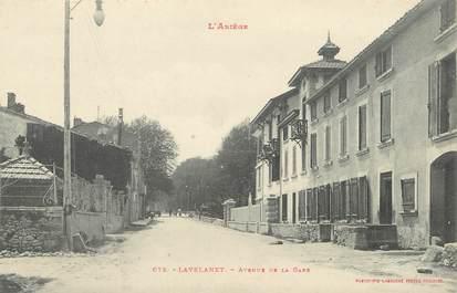 "/ CPA FRANCE 09 ""Lavelanet, avenue de la gare"""