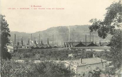 """/ CPA FRANCE 09 """"Pamiers, les usines vues du calvaire"""""""