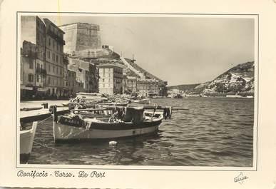 "/ CPSM FRANCE 20 ""Corse, Bonifacio, le port"""