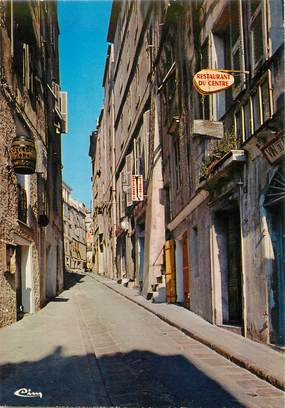 "/ CPSM FRANCE 20 ""Corse, Bonifacio, rue Général De Gaulle"""