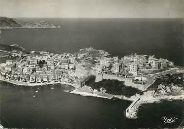 """/ CPSM FRANCE 20 """"Corse, Calvi, vue panoramique aérienne"""""""