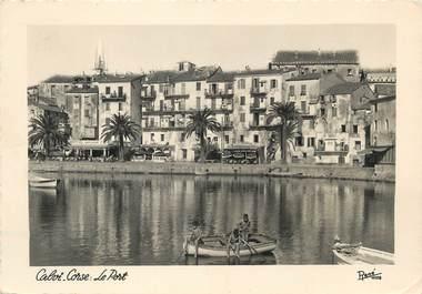 "/ CPSM FRANCE 20 ""Corse, Calvi, le port """