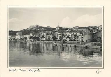 "/ CPSM FRANCE 20 ""Corse, Calvi, les quais """