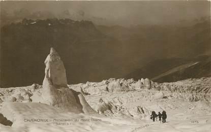 """CPSM FRANCE 74 """"Chamonix, Ascension du Mont Blanc"""""""