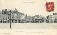 """54 Meurthe Et Moselle / CPA FRANCE 54 """"Pont à Mousson, place Duroc, les Arcades, l'hôtel de ville"""""""