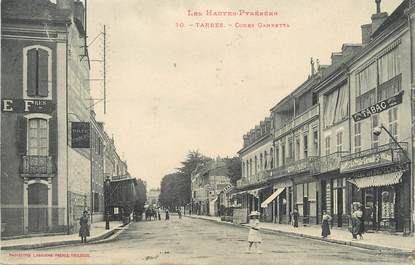 """/ CPA FRANCE 65 """"Tarbes, cours Gambetta"""""""