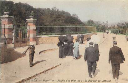 """CPA FRANCE 83 """"Toulon, jardin des plantes"""""""