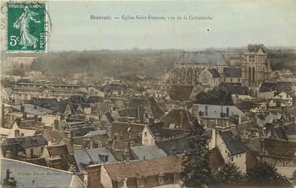 """CPA FRANCE 60 """"Beauvais, Eglise Saint Etienne, vue de la cathédrale"""""""