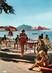 """/ CPSM FRANCE 20 """"Corse, Campomoro, la terrasse des touristes"""""""