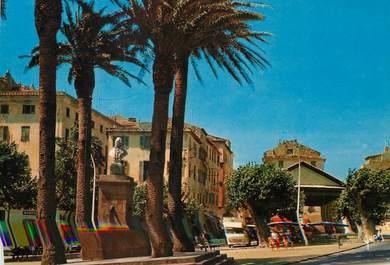 """/ CPSM FRANCE 20 """"Corse, L'Ile Rousse, la place Paoli et le marché couvert"""""""