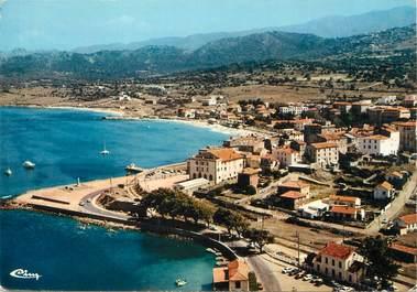 """/ CPSM FRANCE 20 """"Corse, L'Ile Rousse, vue aérienne"""""""