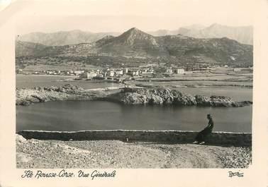 """/ CPSM FRANCE 20 """"Corse, L'Ile Rousse, vue générale"""""""