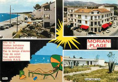 """/ CPSM FRANCE 20 """" Corse, Moriani plage, station balnéaire"""""""