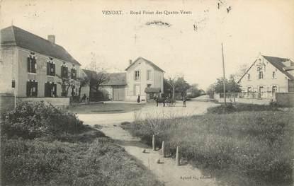 """CPA FRANCE 03 """"Vendat, rond point des Quatre Vents"""""""