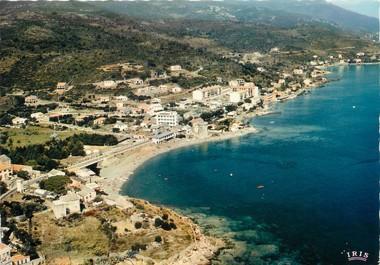 """/ CPSM FRANCE 20 """"Corse, Miomo, la marine et le village"""""""
