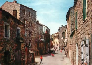 """/ CPSM FRANCE 20 """"Corse, Portovecchio, un coin de la ville"""""""