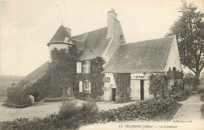 "CPA FRANCE 03  ""Le Veurdre, le Coudray"""