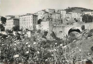 """/ CPSM FRANCE 20 """"Corse, Sartène, abord sévère de la ville"""""""