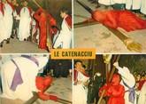 """20 Corse / CPSM FRANCE 20 """"Corse,  Sartène, procession de Catenacciu """""""