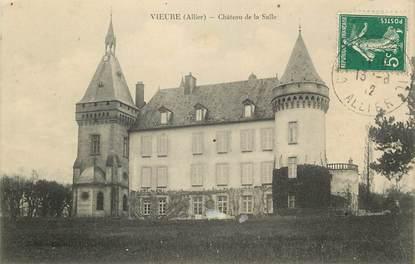 """CPA FRANCE 03  """"Vieure, Chateau de la Salle"""""""