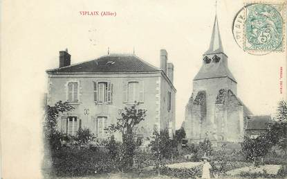 """CPA FRANCE 03  """"Viplaix, L'Eglise"""""""