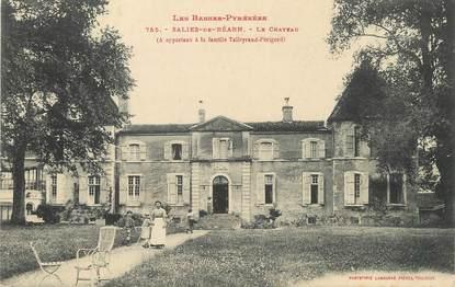 "/ CPA FRANCE 64 ""Saliès de Béarn, le château"""