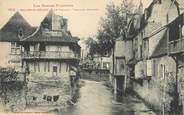 """64 PyrÉnÉe Atlantique / CPA FRANCE 64 """"Saliès de Béarn, le Saleys, vieilles maisons"""""""