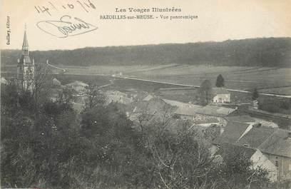 """/ CPA FRANCE 88 """"Bazoilles sur Meuse, vue panoramique"""""""