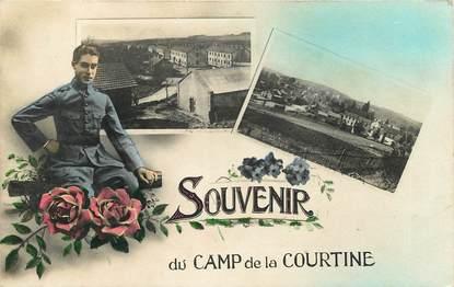 """CPA FRANCE 23 """"Souvenir du camp de La Courtine"""""""