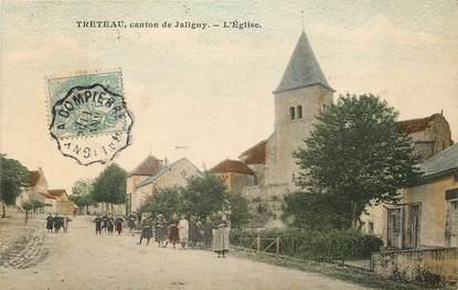 """CPA FRANCE 03  """"Treteau, canton de Jaligny, L'Eglise"""""""