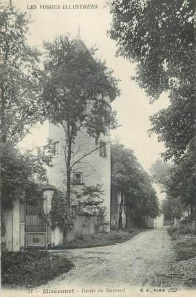 """/ CPA FRANCE 88 """"Mirecourt,  route de Ravenel"""""""
