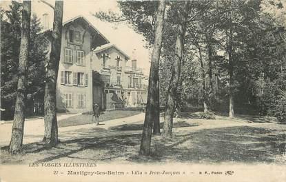 """/ CPA FRANCE 88 """"Martigny les Bains, villa Jean Jacques"""""""