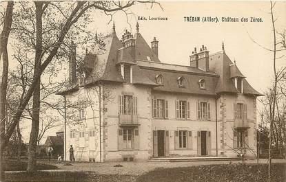 """CPA FRANCE 03  """"Tréban, Chateau des Zéros"""""""