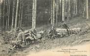 """88 Vosge / CPA FRANCE 88 """"Gerardmer, le schlittage des bois dans la montagne"""""""