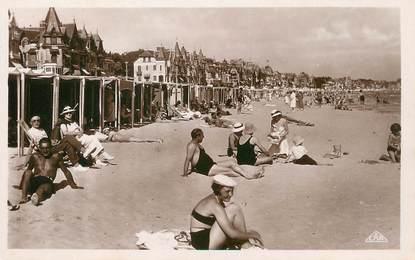 """/ CPSM FRANCE 44 """"La Baule, la plage"""""""