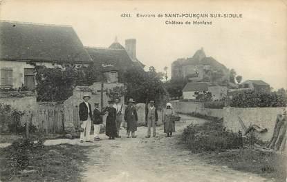 """CPA FRANCE 03  """"Env. de Saint Pourçain sur Sioule, Chateau de Monfand"""""""