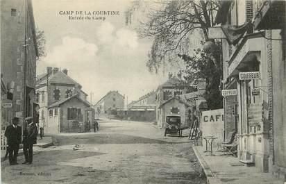 """CPA FRANCE 23 """"La Courtine, entrée du camp"""""""